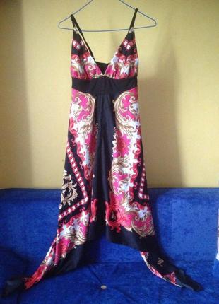 Легкое летнее платье/сарафан