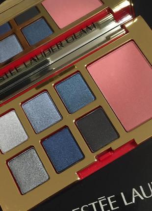Палетка estee lauder pure color envy eye and cheek palette-glam, оригинал5