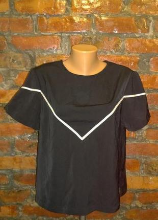 Обновка на весну!топ блуза кофточка из мокрого шелка new look