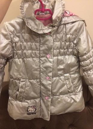 Серебристая курточка 104,4 года