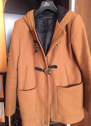 Модное пальто zara куртка зара весна осень