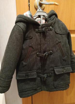 Очень крутое шерстяное пальто bambini