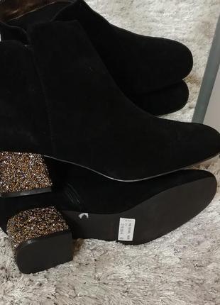 Шикарні черевички dina від minelli нат.замш р.40.6 фото