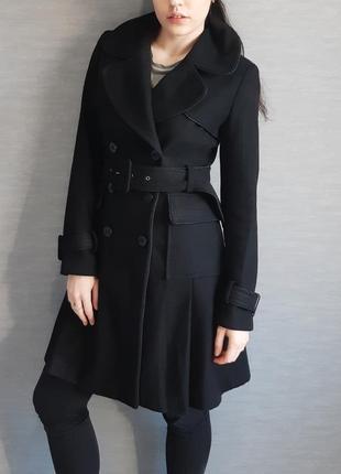 Плотное пальто из шерсти warehouse на раннюю весну