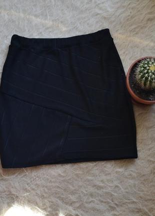 Boohoo night # бандажная юбка # черная юбка # короткая юбка #