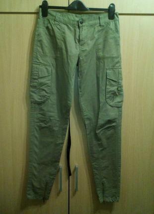 Летние брюки карго милитари размер s 442