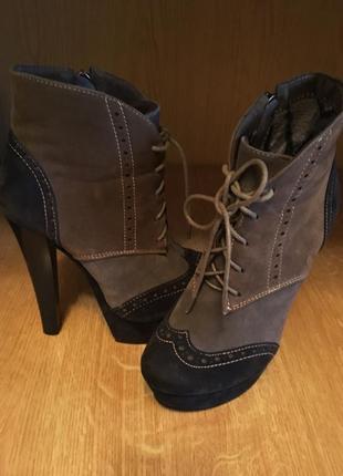 Ботильйони, ботинки, ботильйони на каблуке, сапоги