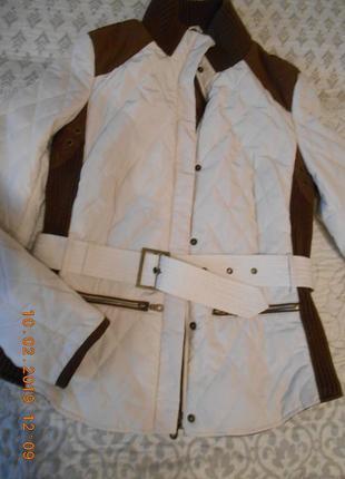 Куртка zara курточка стеганная