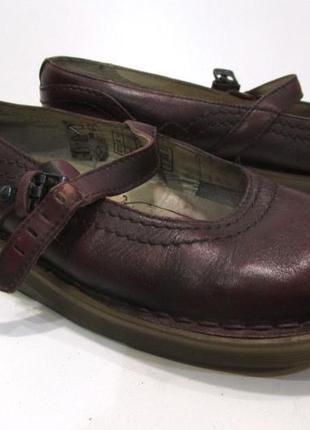Фирменные удобные туфли настоящая кожа