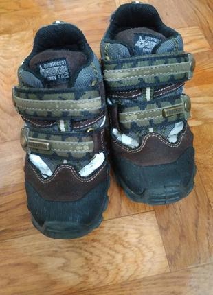 Деми ботинки для мальчика