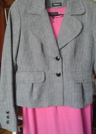Жакет пиджак женский елочка мелкая