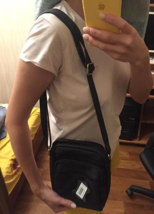 Мужская маленькая сумка на плечо
