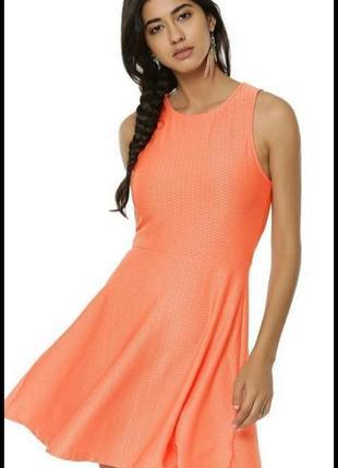 New look женское платье лето фактурное сарафан повседневное море