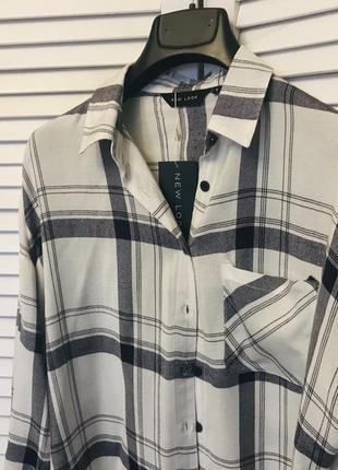 Хлопковая рубашка new look5 фото