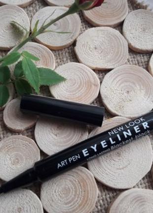 Подводка-фломастер для глаз  cosmetics new look art pen eyeliner, оригинал