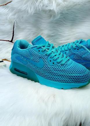 Яркие, легкие кроссовки nike air max 90 ultra br ( 36 размер )