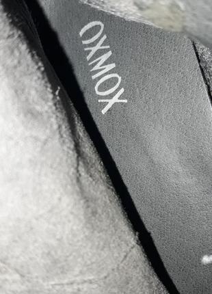 Стильные замшевые ботинки фирмы oxmox ( италия) р. 41 стелька 26,5см8