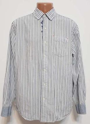 Рубашка levi's, 100% хлопок, xl, как новая!