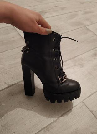 Супер ботинки!!кожа!