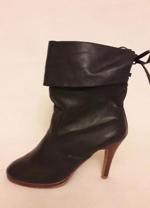 Стильные кожаные ботинки, сапожки фирмы new look p. 37 стелька 24 см1