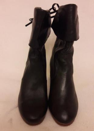 Стильные кожаные ботинки, сапожки фирмы new look p. 37 стелька 24 см3