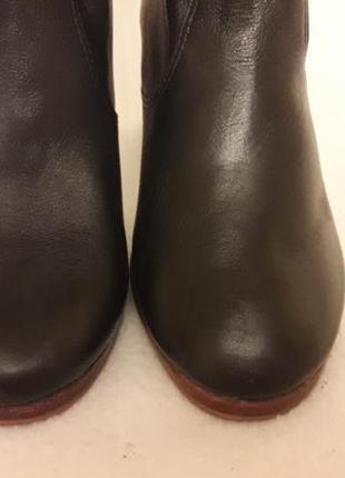 Стильные кожаные ботинки, сапожки фирмы new look p. 37 стелька 24 см4