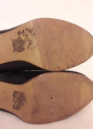 Стильные кожаные ботинки, сапожки фирмы new look p. 37 стелька 24 см7