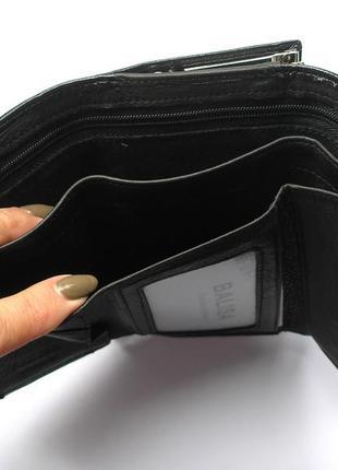 Кожаный кошелек портмоне черная роза, 100% натуральная кожа, есть доставка бесплатно2