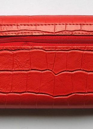 Кожаный кошелек крокодил + картхолдер , 100% натуральная кожа, есть доставка бесплатно3