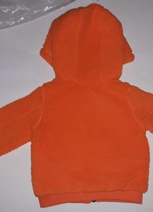 Весенняя брендовая куртка кофта на 3-6 мес. рост 62/68. original marines. италия.2 фото