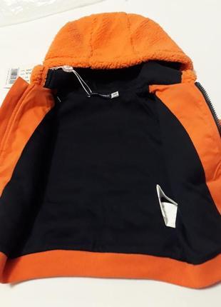 Весенняя брендовая куртка кофта на 3-6 мес. рост 62/68. original marines. италия.3 фото