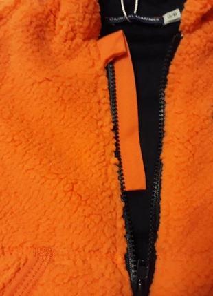 Весенняя брендовая куртка кофта на 3-6 мес. рост 62/68. original marines. италия.4 фото