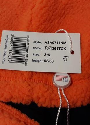 Весенняя брендовая куртка кофта на 3-6 мес. рост 62/68. original marines. италия.7 фото