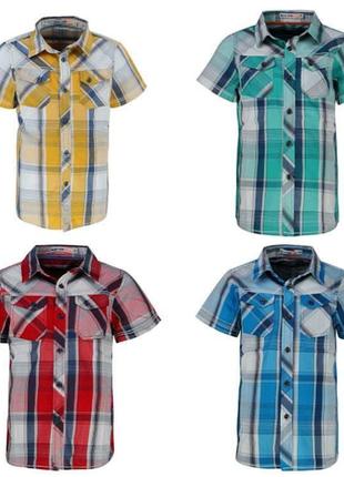 Рубашки для мальчиков 98-128 см. венгрия