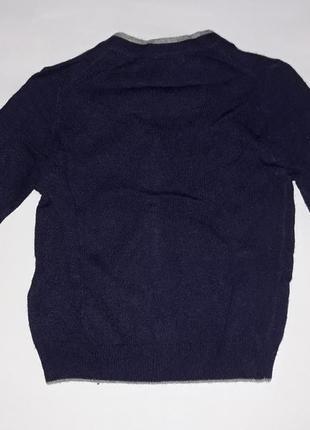 Кофта брендовая нежная и теплая  40% шерсть, 25% вискоза,10%кашемир.3 фото