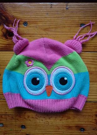 Классная шапка для малыша