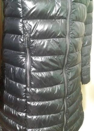 Куртки удлененные стеганное пальто amisu 34-38рр капюшон цвета разные6 фото