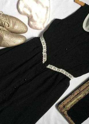 Шифоновое платье danity с воротником