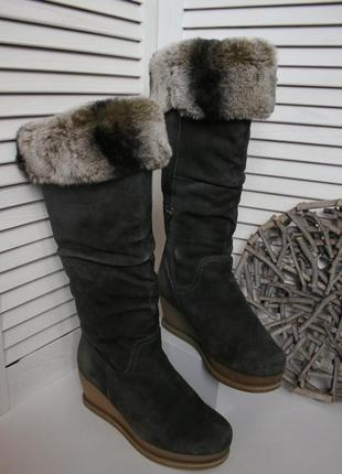 Распродажа! сапоги полностью натуральный мех овчина зима miraton attizzare
