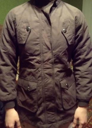 Куртка парка пальто весенне- осеннее alive