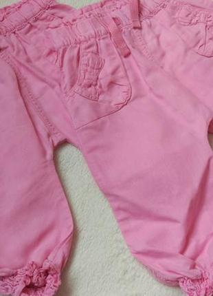 Летние штаны бриджи на 6-12 мес и дольше