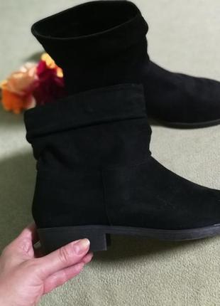 Ботиночки,полусапожки от new look,большой размер