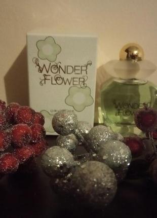 Супер туалетна вода wonder flower + подарунок