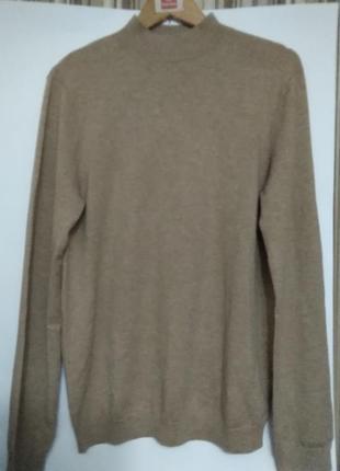 Стильный свитер из мериносовой шерсти и нейлона  от find