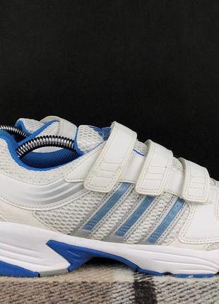 Спортивные кроссовки adidas original на липучках 39 женские белые air