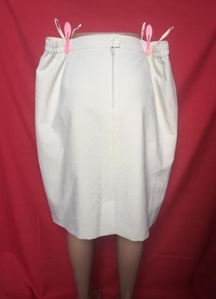Шикарный стильный костюм для деловой леди - длинный пиджак сюртук с миди юбкой 60 р4