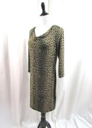 Модный принт леопард туника michael kors