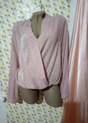 Блуза ,рубашка 👚 на зап*ах с длинной спинкой*opus