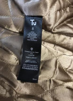 Шерстяное пальто халат5