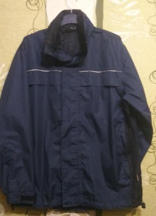 Куртка ветровка rukka финляндия. с капюшоном. размер 50/3.